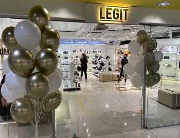 Зустрічайте новий магазин LEGIT!