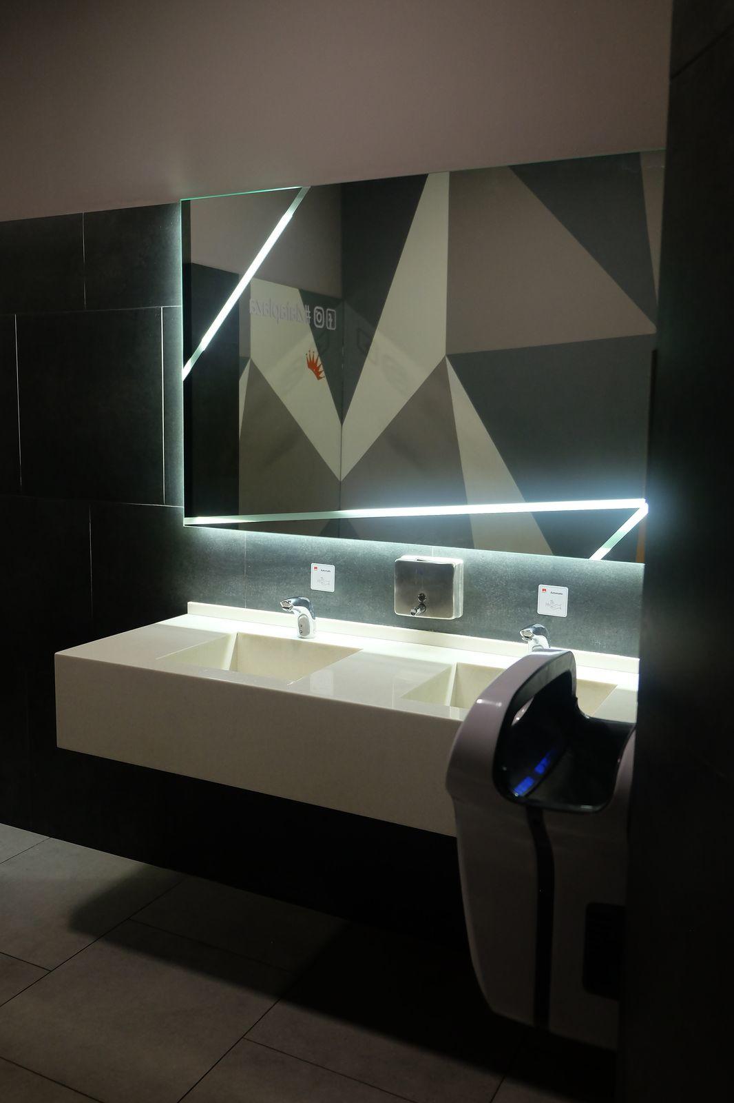 Завершився капітальний ремонт туалетів на трьох поверхах ТРЦ