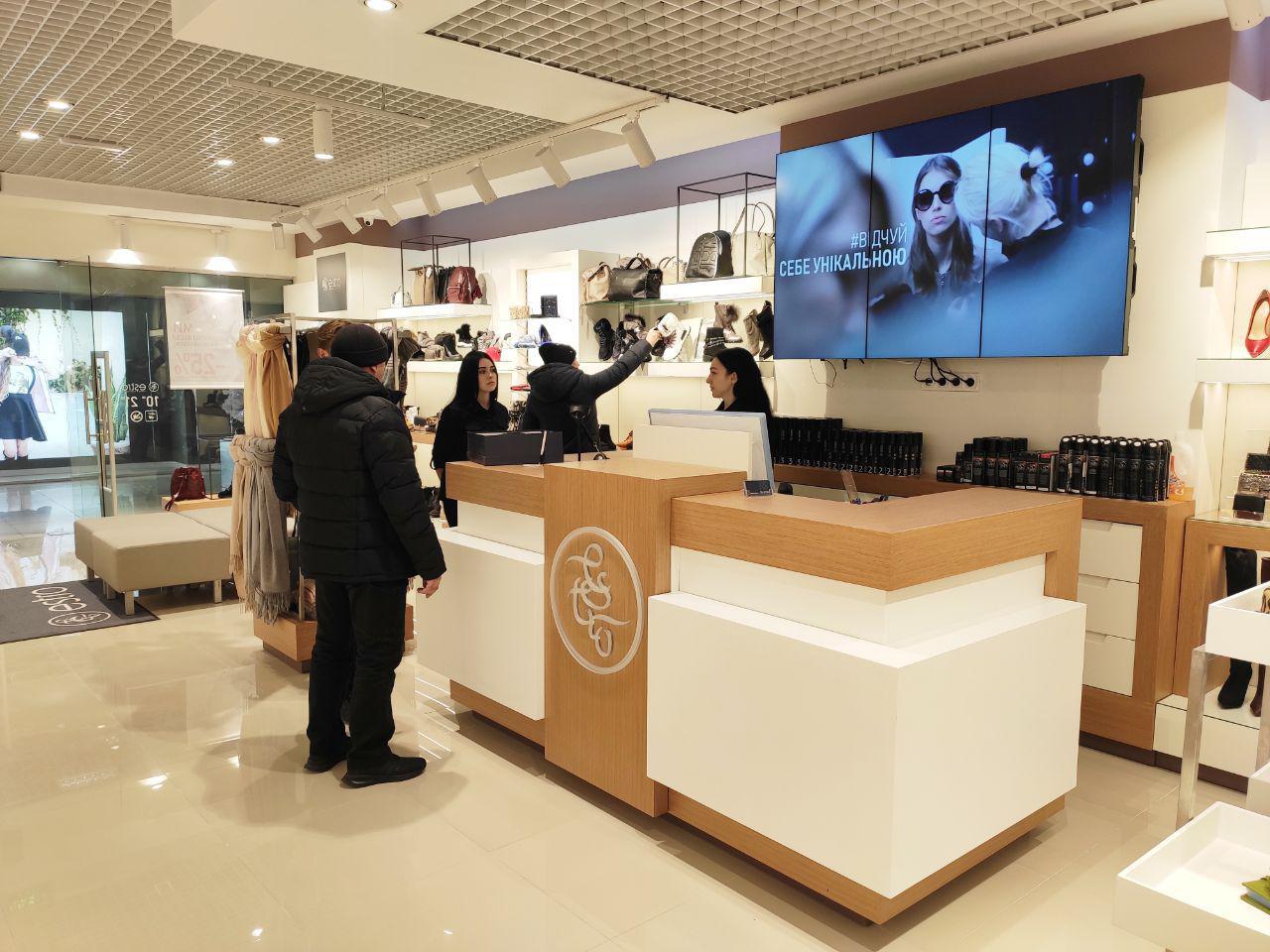 Оновлений магазин Estro відкрився на 1 поверсі ТРЦ