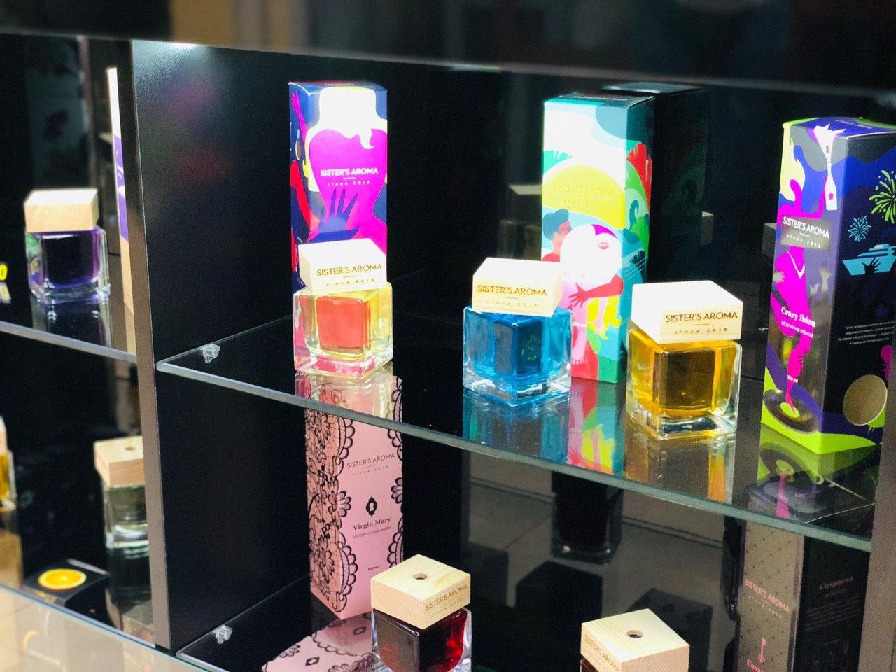 Магазин Sister's Aroma відкрився на -1 поверсі ТРЦ